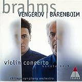 ブラームス:ヴァイオリン協奏曲、ヴァイオリン・ソナタ第3番