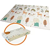 Baby Folding mat Play mat Extra Large Foam playmat Crawl mat Reversible Waterproof Portable Double Sides Kids Baby Toddler Ou