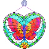 Melissa & Doug 9295 Stained Glass Made Easy Activity Kit: Butterfly - 140+ Stickers