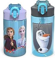 Zak Designs FRZA-7087-AMZ Zak Hydration, Palouse & Park Water Bottle set, Frozen 2
