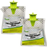 RESCUE Non-Toxic Disposable Yellowjacket Trap, West of The Rockies, 2 Pack