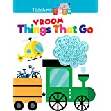 Things That Go Vroom - Silicone Touch and Feel Board Book - Sensory Board Book