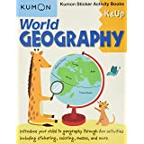 World Geography: Kumon Sticker Activity Books K & Up