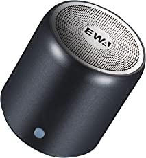 EWA A107 ワイヤレス Bluetoothコンパクトスピーカー【TWS ワイヤレスステレオペアリング/コンパクト設計】(グレー)