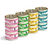 Weruva Cats in the Kitchen, Variety Pack, Kitchen Cuties, Wet Cat Food by Weruva, 3.2oz Cans (Pack of 12)