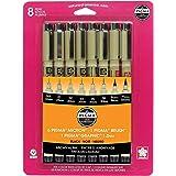 Pigma Pens 8/Pkg-Black