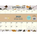 Bright Day Calendars New 2021 Desk Pad Office Calendar by Bright Day, 16 Month 15.5 x 11 Inch, Cute Colorful Planner… (Natu