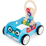 Baby Einstein BE11875 Discovery Buggy Wooden Activity Walker and Wagon