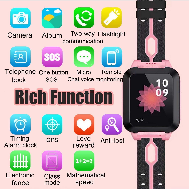6eb1502f989 Kids Smart Watch GPS Tracker Kids Boys Girls ...