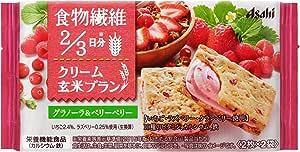アサヒグループ食品 クリーム玄米ブラン グラノーラ&ベリーベリー 72g×6袋