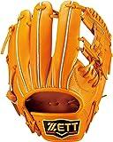 ゼット(ZETT) 硬式野球 グラブ (グローブ) プロステイタス セカンド ショート用 右投げ用 サイズ:1 日本製 BPROG540