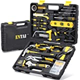 ENTAI 218-Piece Tool Kit for Home, General Household Hand Tool Set with Solid Carrying Tool Box, Home Repair Basic Tool Kit S