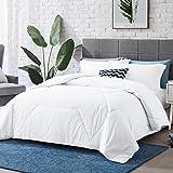 Hansleep Comforter Set, Embossed Bedding Set Ultra Soft Breathable Down Alternative Duvet Insert with Pillow Sham, Machine Wa