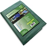 Waterproof Heavy-Duty Tarp Multi-Purpose Poly Tarpaulin with Aluminum Grommets Rot Rust and UV Resistant Cover Protector Shel