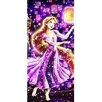 ディズニー iPhone X 壁紙(1125x2436) 夜空に灯る夢(ラプンツェル)