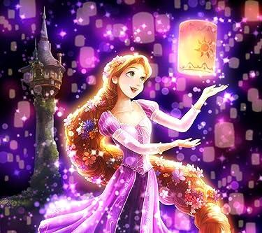 ディズニー  iPhone/Androidスマホ壁紙(1440×1280)-1 - 夜空に灯る夢(ラプンツェル)