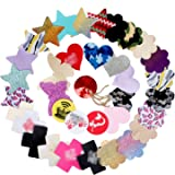 Ypser 43 Pairs Multi Design Nipple Covers Disposable Pasty Satin Pasties for Women