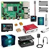 LABISTS Raspberry Pi 4 4B-32GB(技適マーク入)MicroSDHCカード32G/Raspbi…