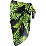 Ayliss Womens Swimwear Floral Chiffon Cover up Beach Sarong Pareo Bikini Wrap
