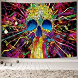 NYMB Psychedelic Tapestry Wall Tapeatry Wall Hanging for Bedroom Living Room 60''x40'', Polyester & Polyester Blend, Multi5,