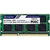 Timetec Hynix IC 8GB Compatible for Apple DDR3L 1600MHz PC3L-12800 SODIMM Memory Upgrade for Early/Mid/Late 2011, Mid/Late 20