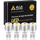 Alla Lighting Newest Best T10 194 LED Bulbs 1616-SMD Super Bright LED 194 168 2825 W5W 175 Bulb High Power Wedge LED 194 Bulb