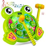 Play22 Whack A Frog Game - Interactive Whack A Frog Game for Toddler, Learning, Active, Early Developmental Toy, Fun Gift Boy