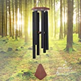 Wind Chimes Outdoor Large Deep Tone, 44'' Sympathy Wind Chime Amazing Grace Outdoor, Memorial Wind-Chime Personalized With 6