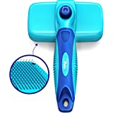 CleanHouse Pets Cat and Dog Hair Brush - No More Shedding Easy Self Cleaning Button All Pet Sizes, Small to Large. This Pro G