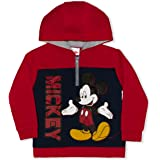 Disney Boy's Mickey Mouse Zip Up Fashion Jacket, Hooded with Ears