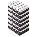 KUULE- Kitchen Towels, 100% Soft NARURAL Cotton, (12 Pack)- Tea Towel Great for Any Kitchen DISHCOLOTHS & Household Cleaning,