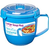 Sistema To Go Collection Soup Mug, Large, Varied, 1 count
