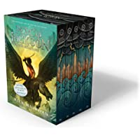 Percy Jackson and the Olympians 5 Book Paperback Boxed Set…