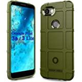 Sucnakp Pixel 3a Case,Google Pixel 3 Lite Case, Heavy Duty Shock Absorption Phone Cases Impact Resistant Protective Cover for