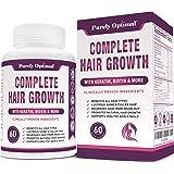 Premium Hair Growth for Women & Men - Hair Growth Vitamins w/ Biotin & Keratin - Prevents Hair Loss & Thinning, Supports Thic