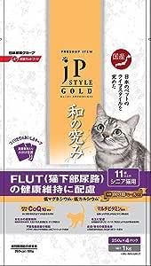 ジェーピースタイルGOLD 11歳以上のシニア猫用 キャットフード 1kg
