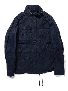 Garment Dyed Nylon M65 Jacket 11-18-2615-139: Navy