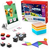 Osmo - Genius Starter Kit for iPad + Family Game Night - 7 Educational Learning Games for Spelling, Math & more - Ages 6-10 -