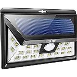 LITOM Original Solar Lights Outdoor, 3 Optional Modes Wireless Motion Sensor Light with 270° Wide Angle, IP65 Waterproof, Eas