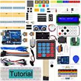 Freenove RFID Starter Kit V2.0 with Board V4 (Compatible with Arduino IDE) (Blue Board), 266 Pages Detailed Tutorial, 198 Ite