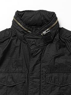 Garment Dyed Nylon M65 Jacket 11-18-2615-139: Black