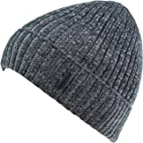 Connectyle Classic Men's Warm Winter Hats Thick Knit Cuff Beanie Cap with Lining