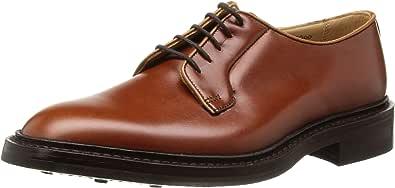 [トリッカーズ] Plain Toe Derby Shoe-Calf/Dainite Sole ROBERT メンズ