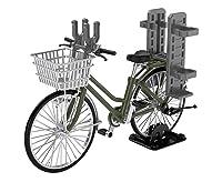 リトルアーモリー 1/12 LM007 通学自転車 指定防衛校用 オリーブドラブ:自動火器運搬型
