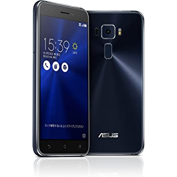 ASUS ZenFone3 SIMフリースマートフォン (ブラック/5.2インチ)【日本正規代理店品】(オクタコアCPU/3GB/32GB/DSDS & au VoLTE対応)ZE520KL-BK32S3/A