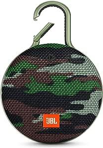 JBL CLIP3 Bluetoothスピーカー IPX7防水/パッシブラジエーター搭載/ポータブル/カラビナ付 スクワッド 迷彩 JBLCLIP3SQUAD【国内正規品/メーカー1年保証付き】