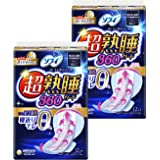 ソフィ 超熟睡ガード 360 12枚×2個(くるっとテープつき)〔生理用ナプキン 夜用〕