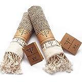 Smyrna Original Turkish Hand Towels | 100% Cotton, Prewashed, 16 x 40 Inches | Decorative Bathroom Peshtemal Towel for Hand,