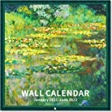 2021-2022 Wall Calendar - 18 Monthly 2021-2022 Calendar 12 x 12 Inch with Thick Paper and Bright Colors, Jan. 2021- Jun. 2022