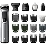 Philips Multigroom Series 7000 18-in-1 Face, Hair and Body Showerproof Trimmer/Clipper with DualCut Technology and 5 hour run